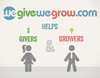 We Give We Grow - Motion Graphic