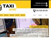 Rediseño y Desarrollo Web Taxi Amic