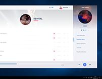 UI/UX - Musicater