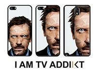 "The kase - collection ""I AM TV ADDIKT"""