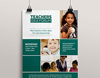 Teacher's Idea Forum Branding