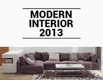 Modern bright interior 2013