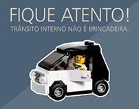 Campanha de Trânsito Interno 2013