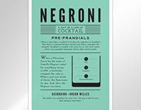 poster // negroni