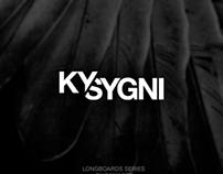 Re-diseño de imagen y marca para KySygni longboards
