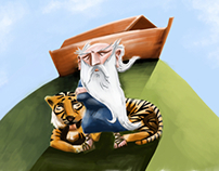 Illustrations for Bible stories