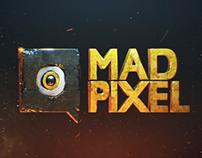 MADPIXEL logo animation