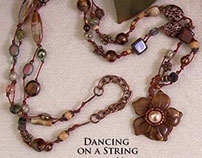 Dancing On A String Necklace