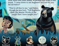 Jungle Book iPad UI & Typography