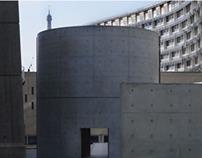 Tadao Ando Mini Exhibit and  Sketches