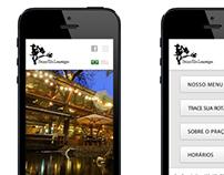 Mobile Website Praça São Lourenço