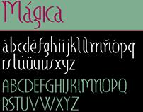 Mágica font