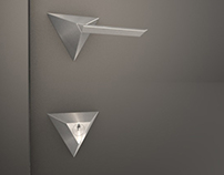 Triangle: door & handle