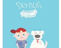 """""""Sky Dog"""" children's book project"""