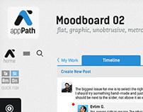 appPath moodboard