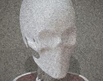 Slenderman Skull