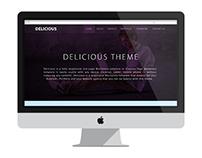 Delicious Wordpress Theme