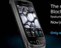 Online Advertising - Blackberry Torch