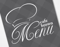Richmond Hotels Istanbul Cafe Brown Menu