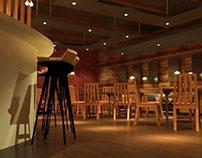 3d interior resto project