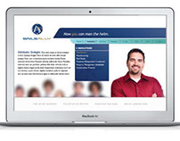 Sails Ally Logo and Website Design