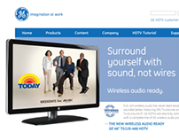 GE - HDTV Website