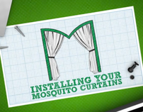 Mosquito Curtains instructional video