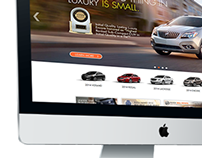 BUICK Site Redesign