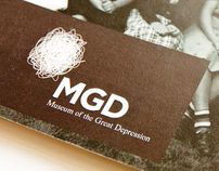 Museum of the Great Depression Branding