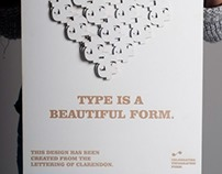 Typographic Patterns poster series