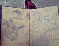 Sketchbook / Draws 2010-2013