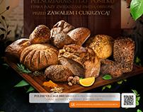 POLISH VILLAGE BREAD - Poster design