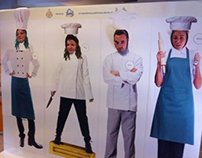 Agencies Cooking Cup 2013 - event design