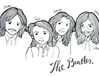 Drawing Pencil : The Beatles
