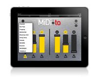 MiDi-to iPad app