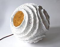 Rosetta | Paper pulp lamp