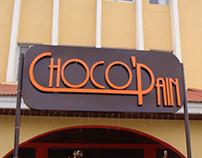 Chocopain Signage