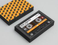 Dane Laboyrie Business Card Design