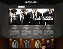 Suit Website Design