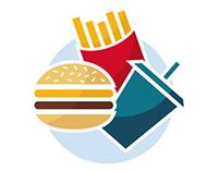 Fast Food (On Sale Logo)