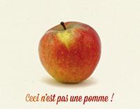 Pommes et Poires bio de France
