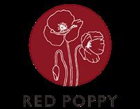 Red Poppy Studios Logo Design