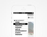 Broadsheet Responsive Design