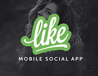 Like Project – iPhone social app (animation)