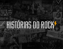 Histórias do Rock - Hotsite