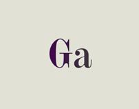 Gewaard Typeface