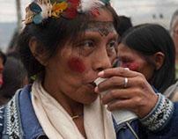 Marcha de Mujeres Amazónicas por la vida