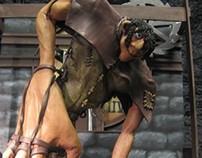 Faust Sculpture
