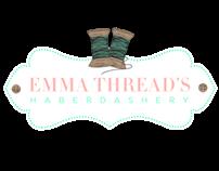 Emma Threads Branding & Site Design