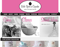 Wish Upon a Cupcake - Branding & Site Design